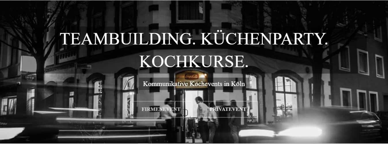 Kochkurse & Teamevents